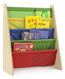 Kids Wood Book Rack Storage Bookshelf