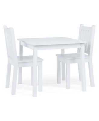 Kids Wood Table, Large and 2 Chairs