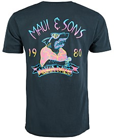Maui and Sons Men's Aloha Daze Logo Graphic T-Shirt