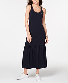 Flounce-Skirt Maxi Dress, Created for Macy's