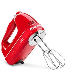 100 Year Limited Edition Queen of Hearts 7-Speed Hand Mixer KHM7210QHSD
