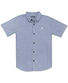 Big Boys Cedar Woven Cotton Shirt