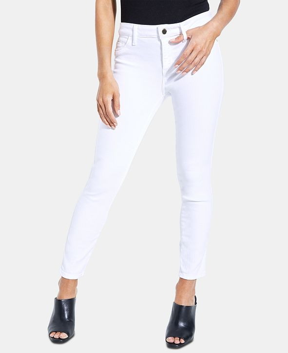 GUESS Cropped Skinny Jeans