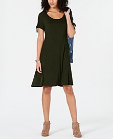 Tie-Sleeve Dress, Created for Macy's