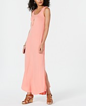 d0ff1a8a6c Style   Co Petite Sleeveless Scoop-Neck Maxi Dress