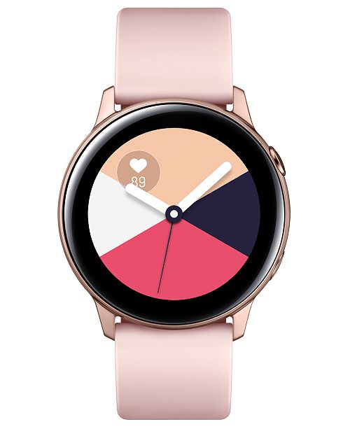 5c5f368a0a799 Samsung Galaxy Active Rose Gold Watch, 40mm & Reviews - Watches ...