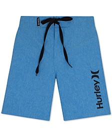 Heathered One and Only Swim Trunks, Big Boys (8-20)