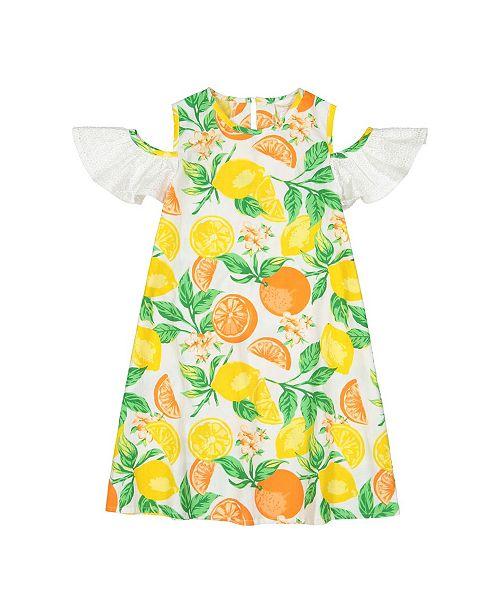 bb87bd65d8095 Masala Baby Girls Layla Dress Citrus Blossom - Dresses - Kids - Macy s