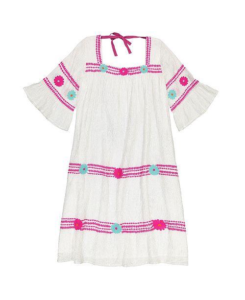 0e7db49ed663 Masala Baby Girls Maria Dress Metallic Stripe   Reviews - Dresses ...