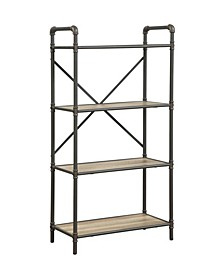 Itzel Bookshelf with 4-Shelves