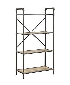 Itzel Bookshelf with 4-Shelves