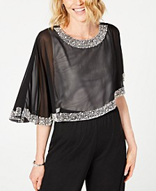 Embellished Poncho, Created for Macy's