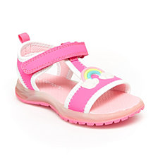 Carter's Toddler & Little Girls Feline Rainbow Light-Up Sandals