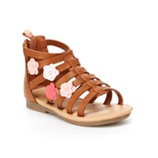 3e0d3cc5f4c25 Carter s Toddler   Little Girls Flossie Gladiator Sandal