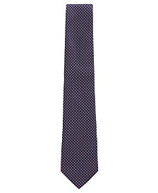 BOSS Men's Micro-Pattern Silk Tie