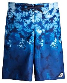 Laguna Big Boys Tie-Dyed Ombré Swim Trunks