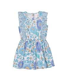 Girls Fantasia Dress Vintage Floral