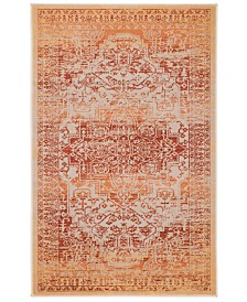CLOSEOUT! Safavieh Exalt EXA126 Orange 4' x 6' Area Rug