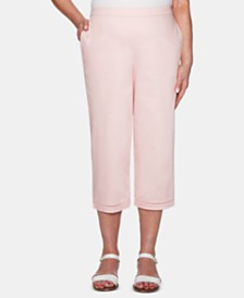 Alfred Dunner Society Pages Pull-On Capri Pants