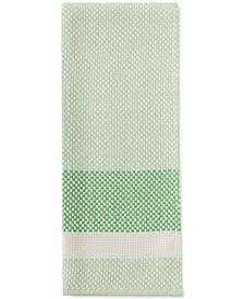 Color Block Stripe Green Kitchen Towel