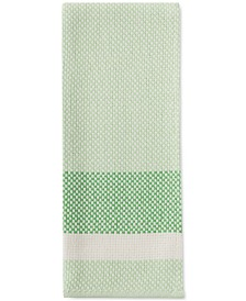 kate spade new york Color Block Stripe Green Kitchen Towel