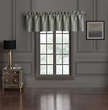 Waterford Dimitrios Charcoal Tailored Valance