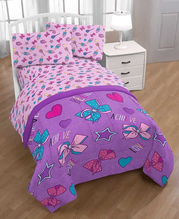 Jojo Siwa Nickelodeon Dream Believe Full Bed in a Bag