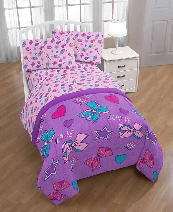 Jojo Siwa Nickelodeon Dream Believe Full Comforter