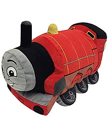Mattel Thomas The Tank Engine James Pillow Buddy