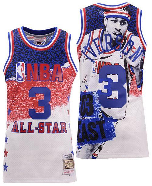 on sale 1285f dfdc1 Men's Allen Iverson NBA Fashion All Star Swingman Jersey