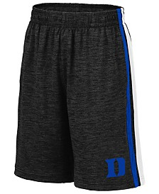 Colosseum Big Boys Duke Blue Devils Team Stripe Shorts