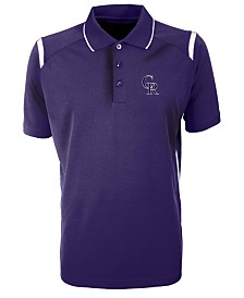 Antigua Men's Colorado Rockies Merit Polo