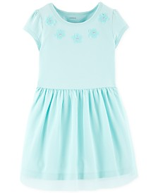 Carter's Toddler Girls Floral Appliqué Dress