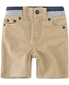 Baby Boys Slim-Fit Pull-On Shorts