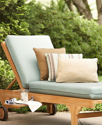 Outdoor Seat Cushions Pillows Direct Ship Furniture Macy 39 S
