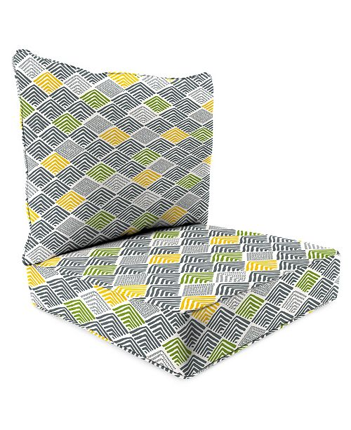 Jordan Manufacturing Outdoor 2-Piece Deep Seat Chair Cushion - 1 pack