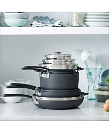 GreenPan Levels 11-Pc. Stackable Ceramic Nonstick Cookware Set