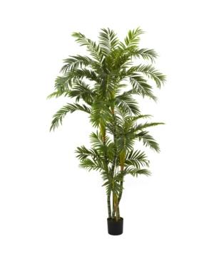 Nearly Natural 6' Curvy Parlor Palm Silk Tree