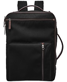 Fossil Men's Buckner Convertible Work Bag Backpack