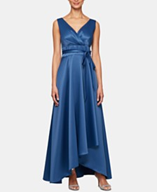Alex Evenings Petite Surplice Ball Gown