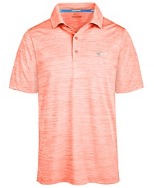Men's 5 Iron Space-Dye Performance Golf Polo, Created for Macy's