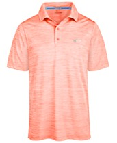 7328b9961 Attack Life by Greg Norman Men s 5 Iron Space-Dye Performance Golf Polo