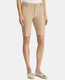 Petite Twill Shorts