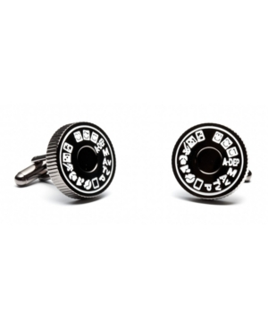 Modeled from the dial found on most cameras, set your focus on the unique and striking camera mode dial Cufflinks. Whether you are Richard Avedon or a fun-loving tourist, odds are you recognize the dial and the icons for landscape, portrait, auto, action and more. A perfect gift idea for any photographer. Cufflinks by Cufflinks, Inc.