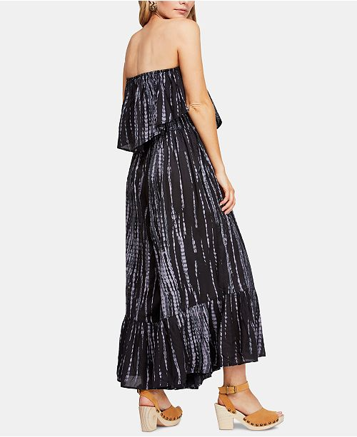 1fc8a44fb8c Free People Summer Vibes Strapless Jumpsuit   Reviews - Pants ...