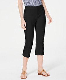 MICHAEL Michael Kors Pull-On Capri Pants, Regular & Petite Sizes
