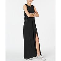 Deals on MICHAEL Michael Kors Grommet-Laced Maxi Dress, Regular & Petite