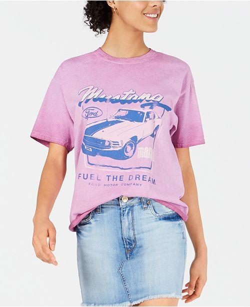 True Vintage Cotton Graphic T-Shirt