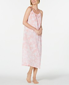 Charter Club Printed Cotton Nightgown, Created for Macy's