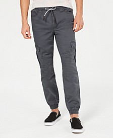 Men's Fused Cargo Jogger Pants, Created for Macy's